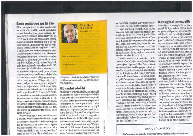 Članek v Reader's Digest December 2012 3.del
