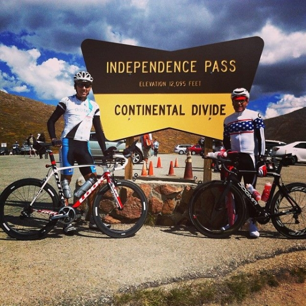 Independence Pass ride