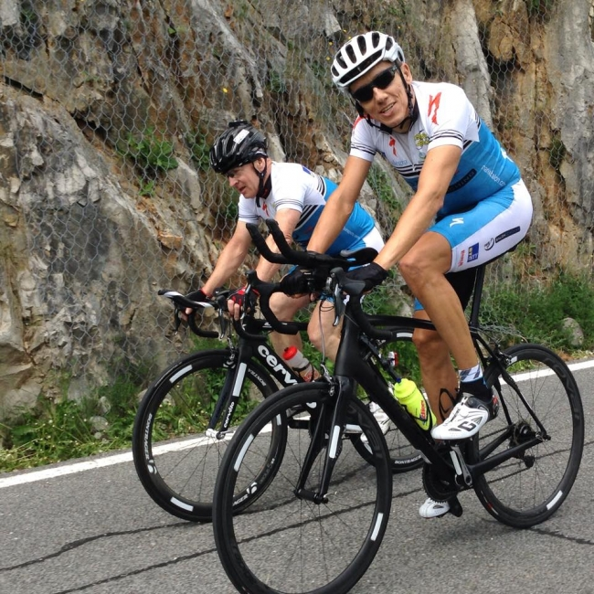 "Cycling Training Camp ""Slovenia July 2015 with Marko B."""